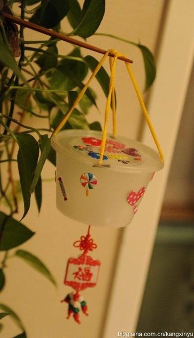 塑料瓶手工制作小灯笼